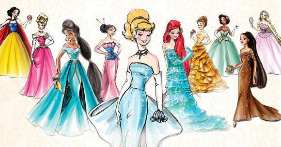 The Disney Princess Designer Collection And The Real