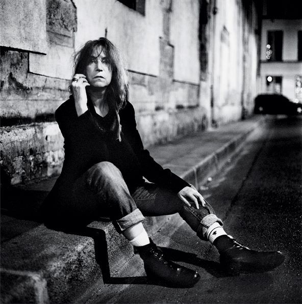Patti Smith, Paris, 2011, Anton Corbijn #AntonCorbijn #photography