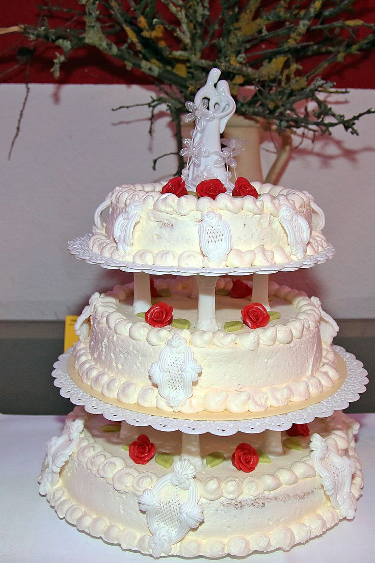 Hochzeitstorte in Bursfelde