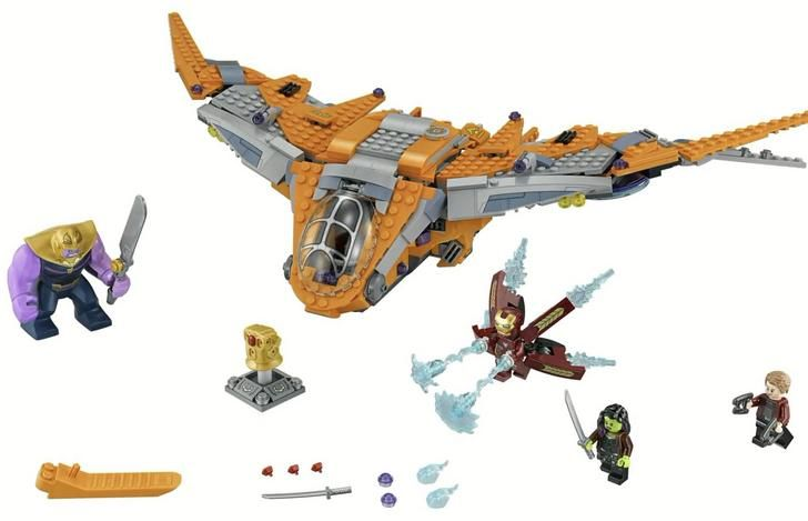 Lego Infinity War - like the small ravager craft!