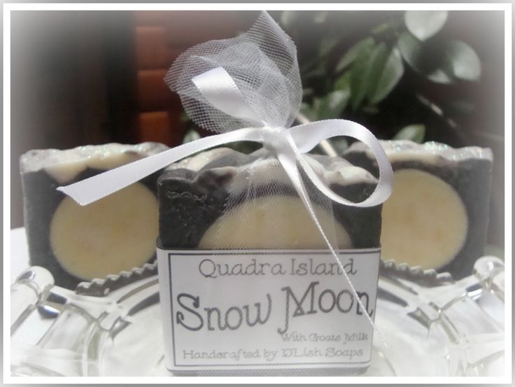 """Snow Moon"" is the moon for the month of February.  Made just in time for Valentines Day!"