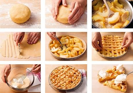 Recepty na koláče z jablek z celé Evropy