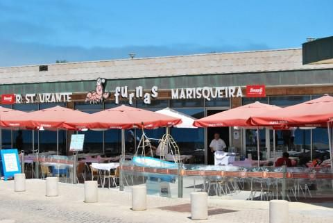 ERICEIRA, PORTUGAL. Marisqueira Furnas. An informal seafood restaurant with a huge selection of fresh fish located on the walking path along the ocean. http://marisqueirafurnasericeira.com/#