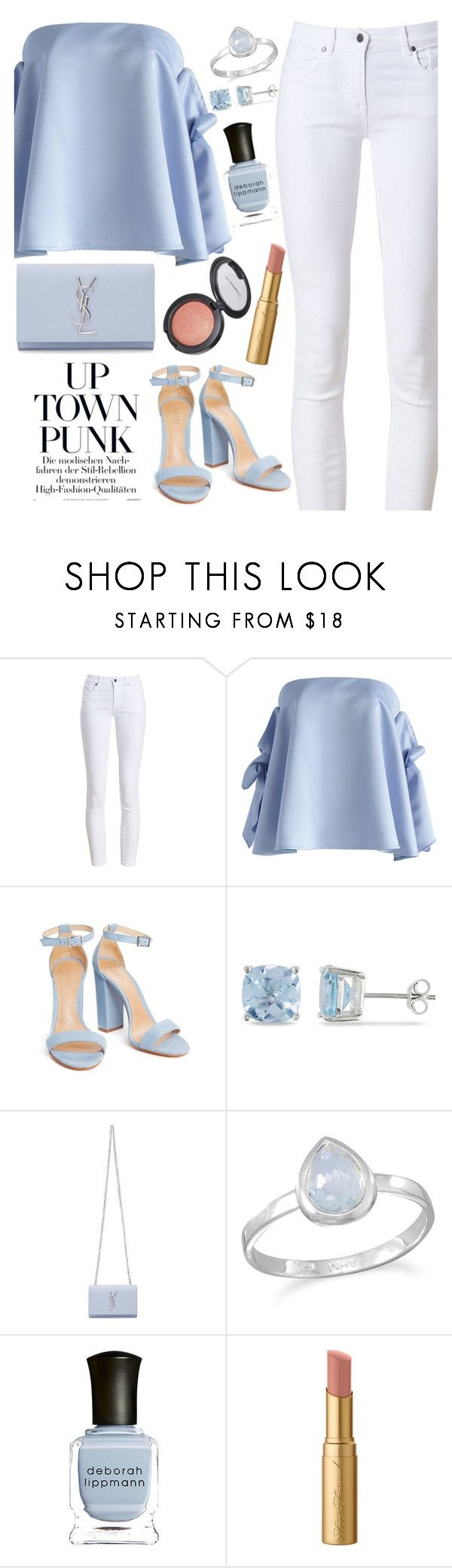 """""""Untitled #1782"""" by mihai-theodora ❤ liked on Polyvore featuring Barbour, Chicwish, Ice, Yves Saint Laurent, BillyTheTree, Deborah Lippmann and Too Faced Cosmetics"""