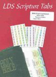 LDS Quad Multicolor Scripture Tabs - Easy to Apply - Old Testament, New Testament, Book of Mormon, Doctrine & Covenants, Pearl of Great Price / http://livinglds.com/lds-quad-multicolor-scripture-tabs-easy-to-apply-old-testament-new-testament-book-of-mormon-doctrine-covenants-pearl-of-great-price/