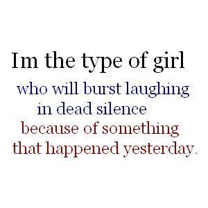 My crazy mind... nervous laugh