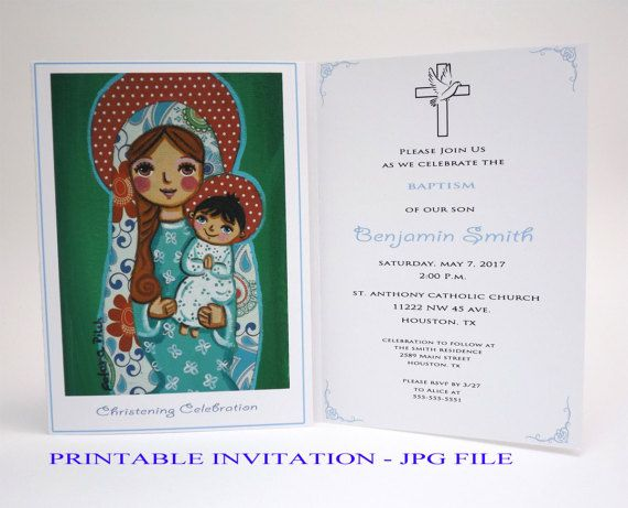 As 8 melhores imagens em girl christening invitation girl baptism boy christening invitation boy baptism invitation boy virgin mary jesus baptism invites christening invites baptism card stopboris Images