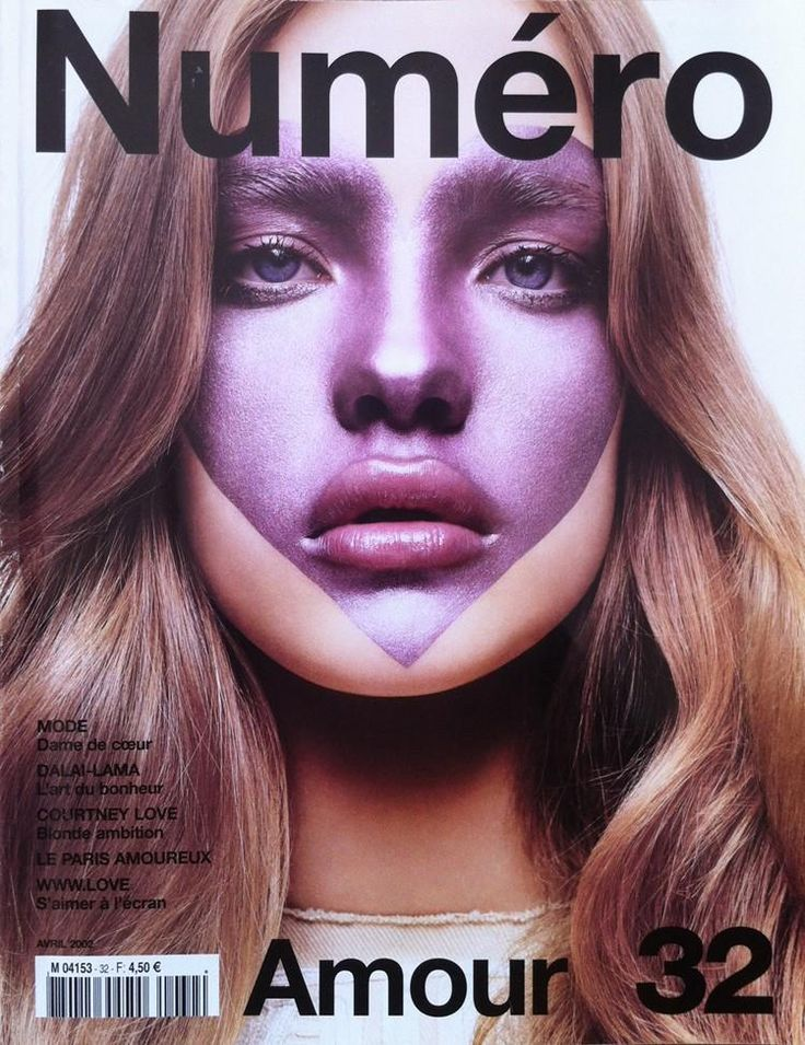 NUMERO 32 APRIL 2002 Cover by Solve Sundsbo (Natalia Vodianova)