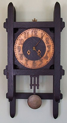 Arts & Crafts wall clock                                                                                                                                                                                 More