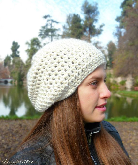 OPENING SALE Special Classic beanie hat  OffWhite  by BeanieVille, $15.00