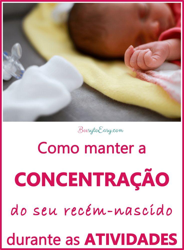 Ideias fáceis para manter a CONCENTRAÇÃO do seu recém-nascido durante as ATIVIDADES | Brincadeira de bebé | Atividades para criança | Conselho de Mãe