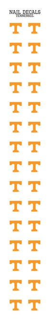 University of Tennessee Nail Sticker Decals (2 Pack)