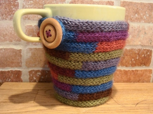 20 best Knit/crochet coffee cozy images on Pinterest | Crochet ...