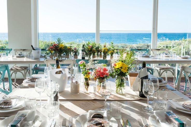 Beach side wedding venue in Fremantle, Western Australia.