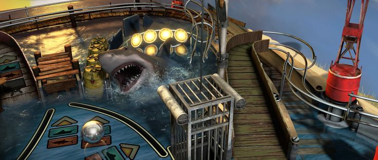 Zen Pinball's upcoming Jaws table gets trailer: Despite the enormous range of movies that have received pinball machine adaptations, Steven…