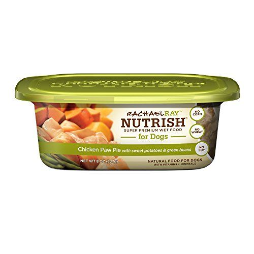 Rachael Ray Nutrish Natural Wet Dog Food, Chicken Paw Pie, Grain Free, 8 oz tub, Pack of 8 -- For more information, visit image link.