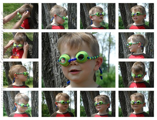 Egg Carton Spy Glasses - these would be fun for a road trip!