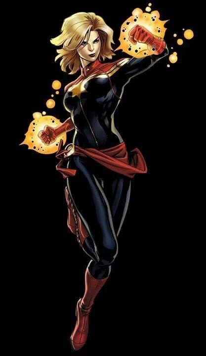 Captain Marvel (Carol Danvers) from Avengers Alliance - artist?