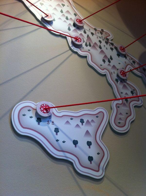 MUSA Museo della Salumeria - Italy map - by Maria Vittoria Benatti, via Behance