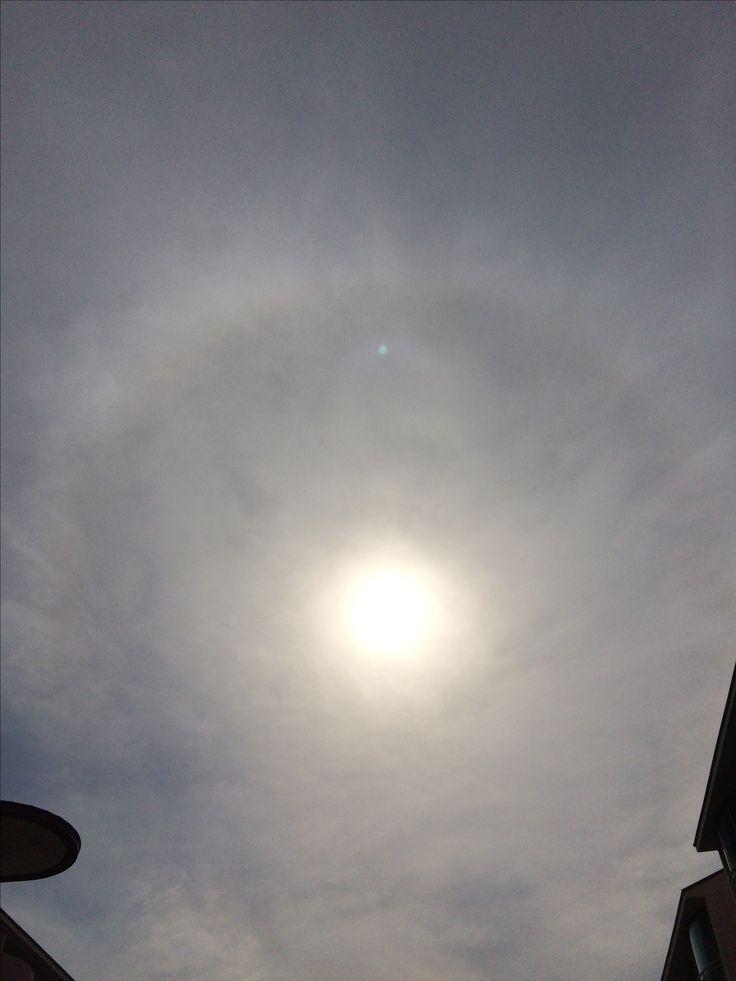 2017년 5월 20일의 하늘 #sky #sun #cloud