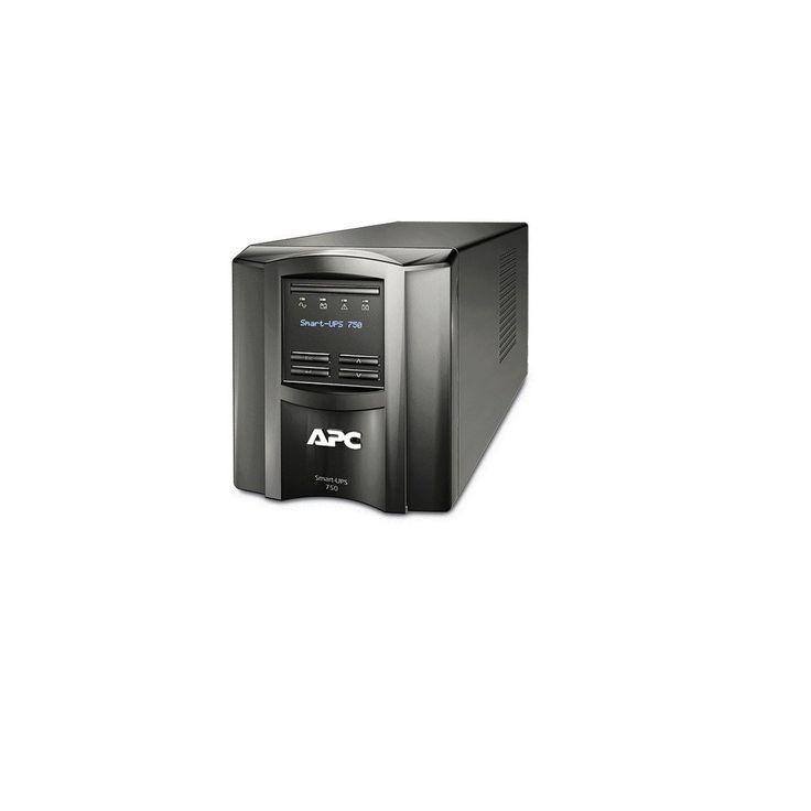 APC Smart-UPS 750VA 500 Watts 120V LCD UPS System SMT750