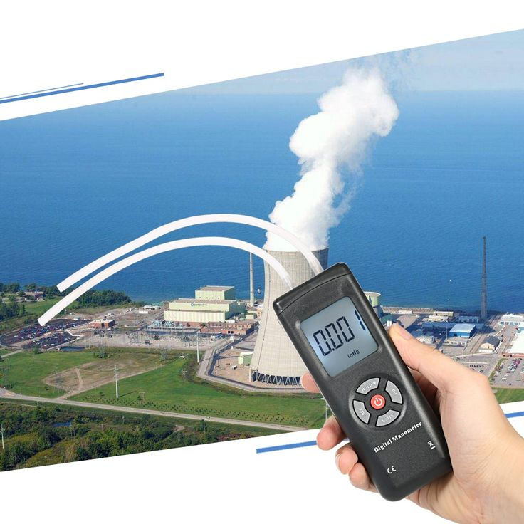 Professional Hand-held LCD Digital Dual-port Manometer Differential Air Pressure Gauges Tester with 11 Units of Measurement/±13.78kPa/±2psi Sales Online Array - Tomtop