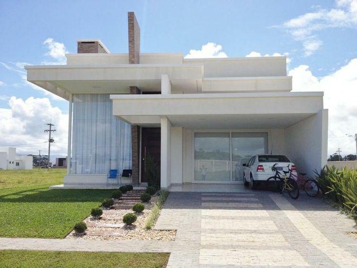 25 melhores ideias sobre casa terrea no pinterest for Casa minimalista 10 x 20