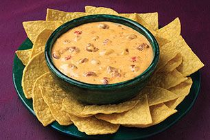 Clocking in at just 5 minutes for prep time, this hot and VELVEETA-cheesy chili dip is also a winner in the flavor department.