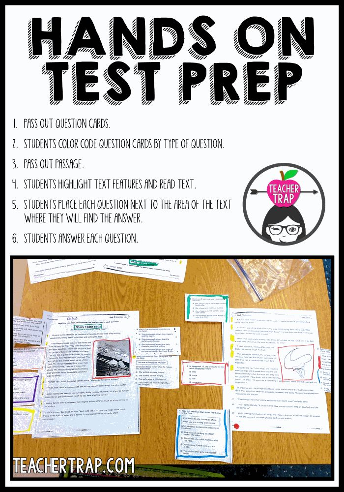 Today's standardized tests are far more demanding than those we took as children. Prepare your students for success with meaningful and engaging work!