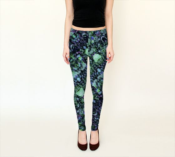 These #artofwhere #leggings and #capris collection are custom #color_synchronized make a #cute #Yoga_Outfit see matching #zazzle_tank by #colourharmonix