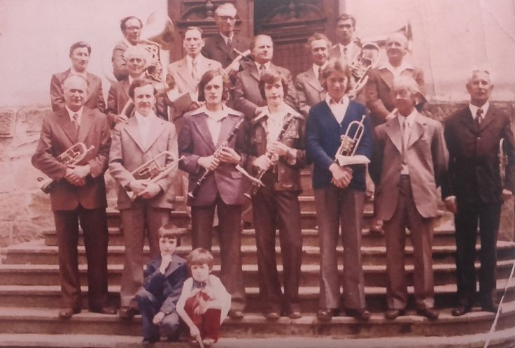 Orkiestra dęta Miejsce Piastowe 1976 r.