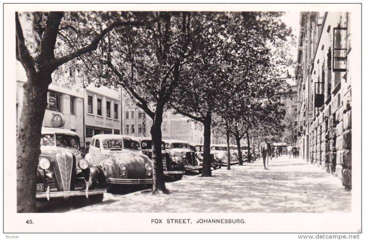 Fox Street, Johannesburg, South Africa, 1940s