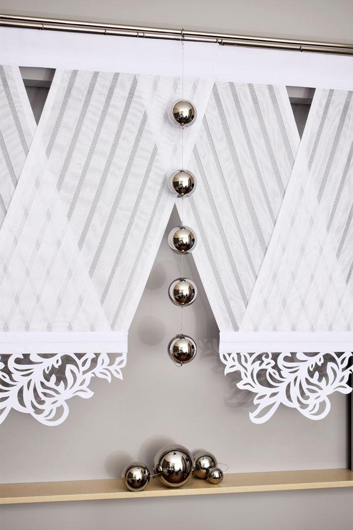 V Ka Z Azurem Vki Panele Piekna Bez Prasowania Nautical Curtains Curtains Paneling