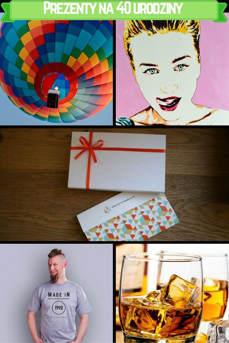 Niebanalne i sprawdzone pomysły na prezenty na 40 urodziny