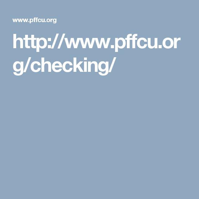 www pffcu