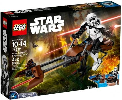 Buy LEGO STAR WARS Scout Trooper & Speeder Bike NEW 2017 for R1,299.00