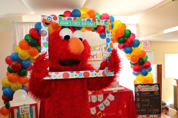 Elmo S World Birthday Party Ideas Elmo Birthday And Elmo