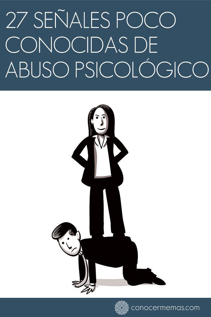 """Las cicatrices de la crueldad psicológica pueden ser tan profundas y duraderas como las heridas de puñetazos o bofetadas, pero a menudo no son tan obvias. De hecho, incluso entre las mujeres que han sufrido violencia por parte de una pareja, la mitad o más informan que el abuso psicológico del hombre es lo que les está causando el mayor daño"""", explica Lundy Bancroft. Desafortunadamente, la mayoría de las víctimas de abuso psicológico no lo ven hasta que es demasiado profundo para salir…"""