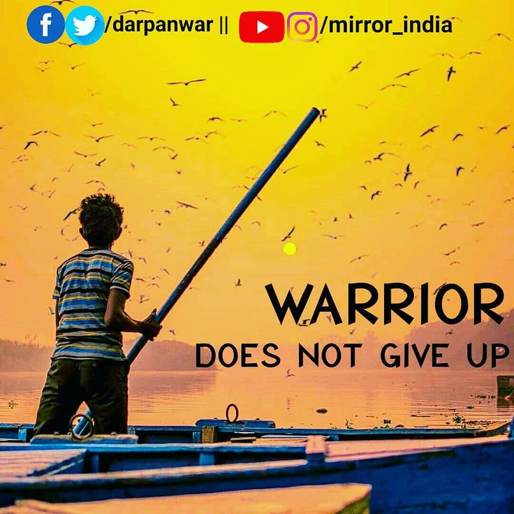 Follow Us. Never ever ever give up mate ! • Warrior does not give up. • #mirrorindia #indianmirror #india #incredibleindia #motivation #inspiration #motivate #inspire #win #billionaire #millionaire #entrepreneur #business #quotes #hustle #goals #follow #success #persistence #grind #dreams #commitment #experience #life #wednesday #warrior #does #not #giveup #battle