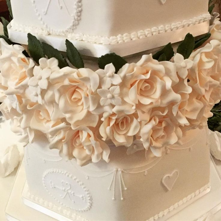 Sugar Flowers #weddingcakes #traditional #sugarflowers #royalicing #cream #roses #weddingcake #weddings #bride #groom #greggwallace #ido #hevercastle #hellomagazine #whitstable #kentwedding  #kent #cake #cakes #cakemaker #cakedecorating http://gelinshop.com/ipost/1525618355376329160/?code=BUsFc-nBZHI