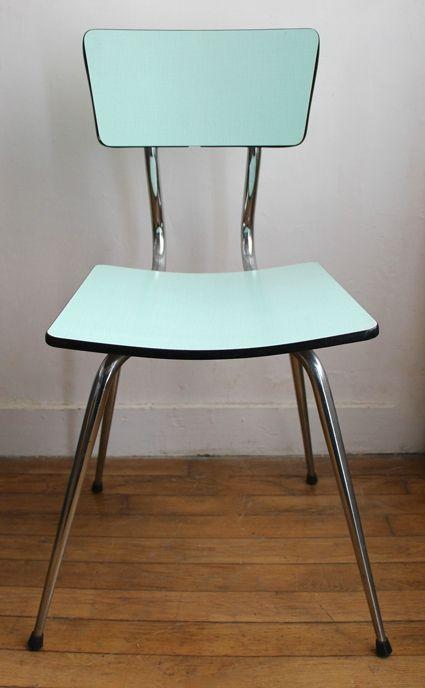1000 id es sur le th me chaise formica sur pinterest chaise fauteuil cocktail et relooker. Black Bedroom Furniture Sets. Home Design Ideas