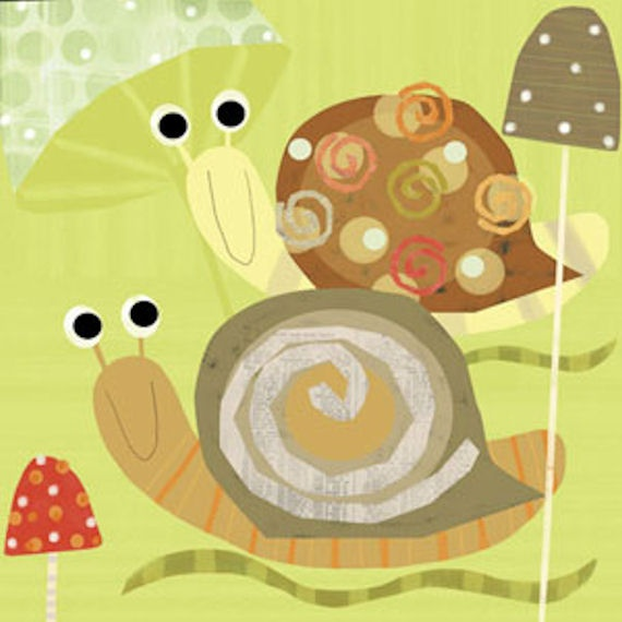 mr and mrs snail...