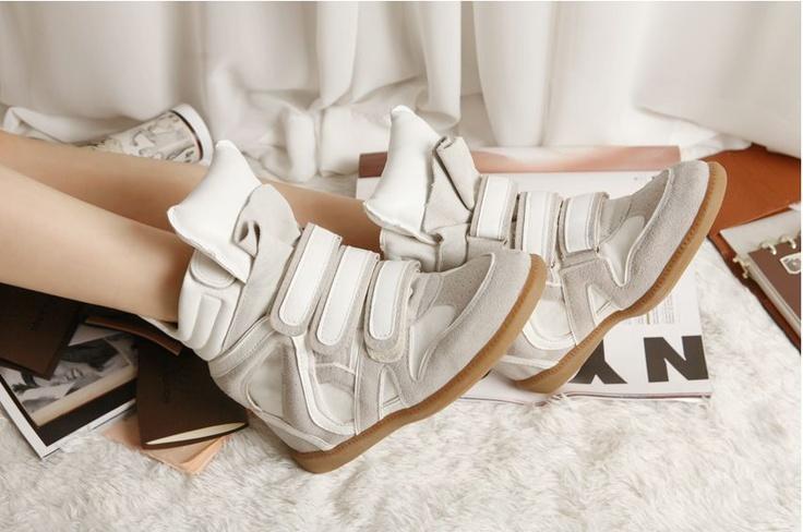 Isabel Marant High-top Sneakers Bekket Suede Snow make you nice