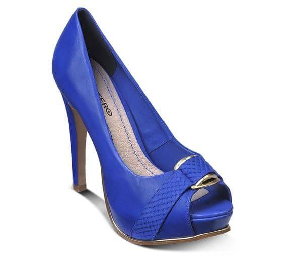 Sapato peep toe em couro verniz | Sapatos | Bottero Calçados