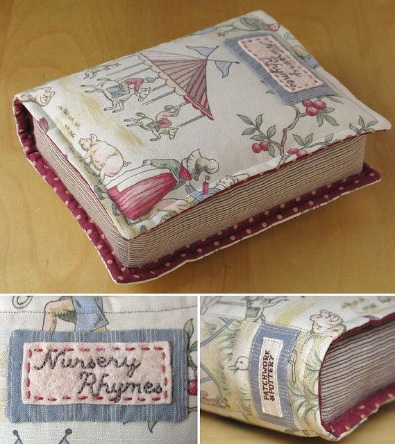 Quilted Book 3 by PatchworkPottery, via Flickr