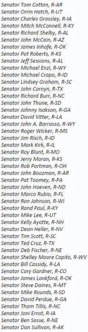 These 47 senators have broken the law. These 47 senators are now criminals. They sent an open letter to Iran telling them they can and will undo any deal made with Obama. As the President feverishly works to heal tensions between the two countries and work out a peace deal, the un-American, traitorous, treasonous, back-stabbing group of Republican senators are trying to sabotage his every move.