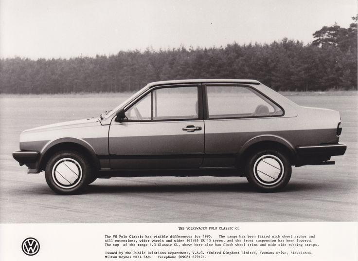 Volkswagen UK Polo Classic GL (1984)
