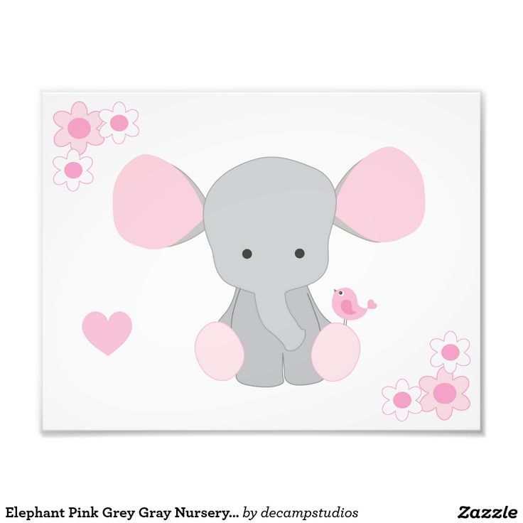 Elephant Twin Nursery Wall Art Nursery Room Decor For Twins: 167 Best Pink Grey Girl Room Decor Images On Pinterest
