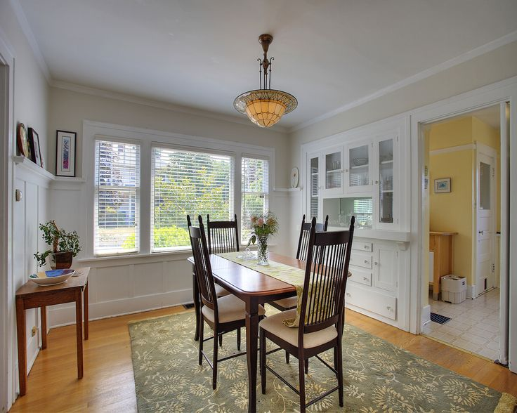 Dining Room With Built In Hutch