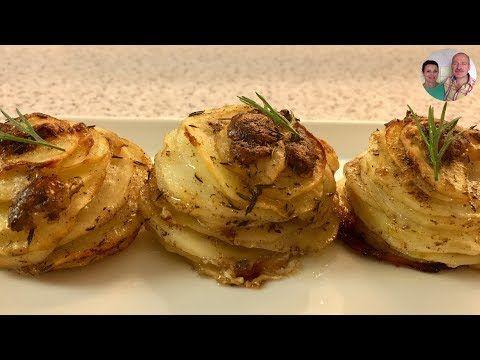 Картофель Запеченный в Фольге с Пармезаном! Как сделать Формочки из Фольги! - YouTube